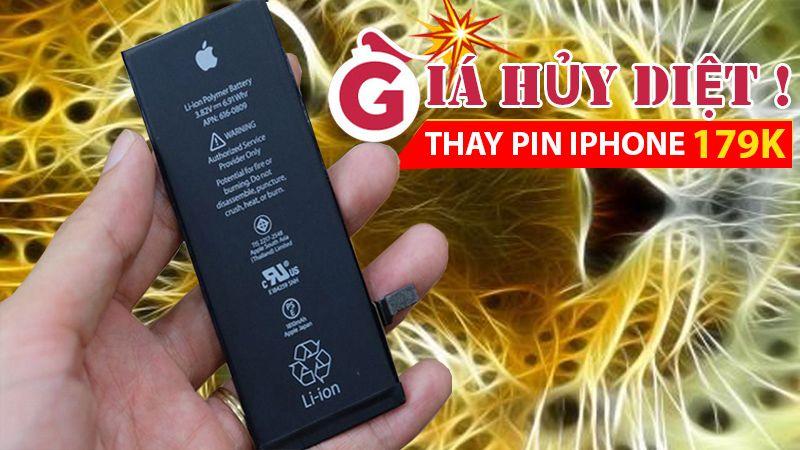 MỪNG KHAI TRƯƠNG CHI NHÁNH MỚI: THAY PIN IPHONE GIÁ HỦY DIỆT 179K