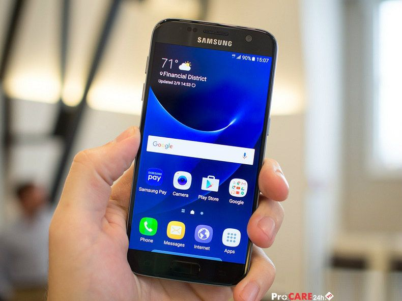 Thay màn hình Điện thoại Samsung Galaxy S7 nhanh, uy tín