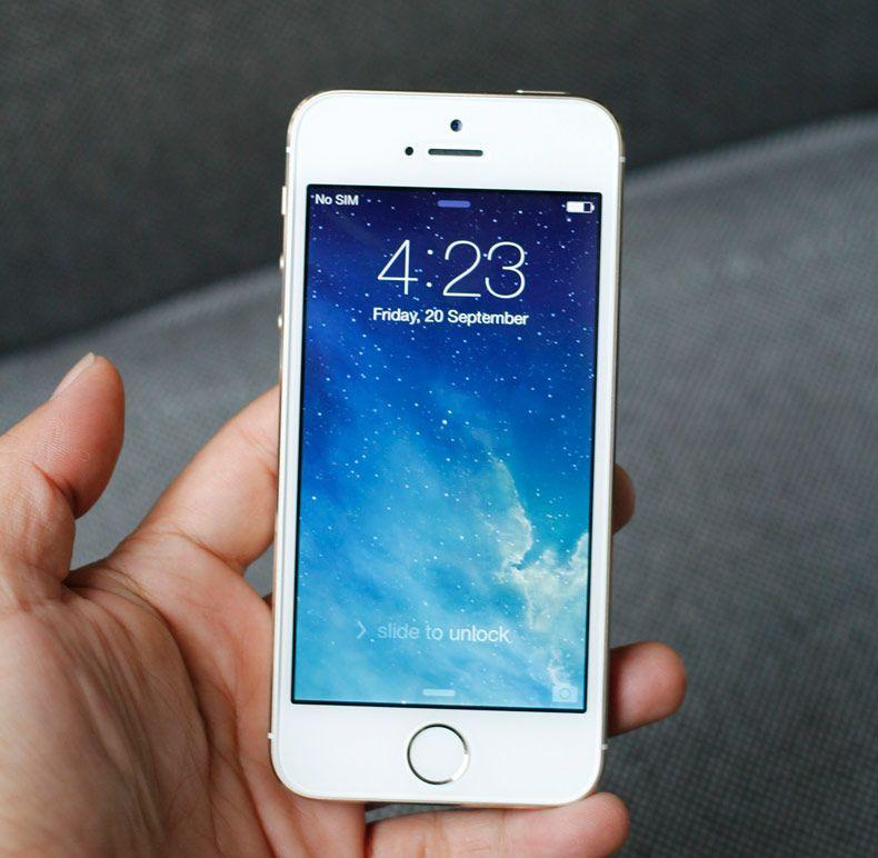 Đã thay màn hình iPhone 5S mới nhìn đẹp hơn