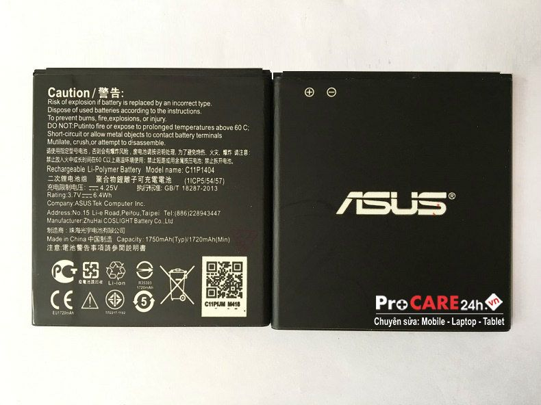 Thay pin Asus Zenfone 4.5 giá rẻ ở HCM